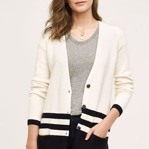 Varsity Cardigan Angel of The North Anthropologie